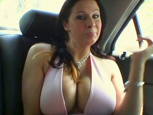 Big tittied chicks get fucked rough in FFM vid