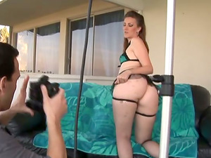 Miss Lady gargles a prick and gets gorgeously fucked and facialed
