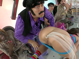 Oral jobs, Injections and Much, Much more in This Hot Parody Flick