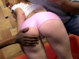 Petite Milky Woman Dual Penetrated by Some Big Black Man sausage