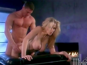 Gorgeous Blonde Julia Ann Gets Banged Hard And Drink Sperm