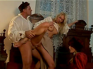 Julie Silver and Liliane Tiger Love a Kinky Threesome