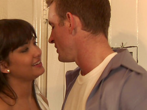 Two Hot Ladies Have a Gonzo Threesome with Their Neighbor