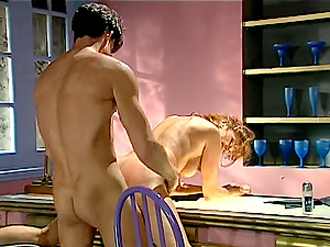 Red-haired bitch Laurie Zeal gets her snatch finger-tickled and drilled hard