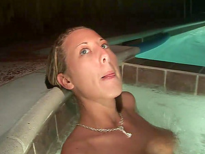 Sexy Unexperienced Femmes Get Naked In The Jacuzzi