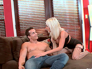 Cougar Mummy In Sexy Undergarments Getting Drilled Hard-core