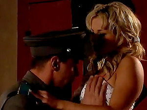 Security Guard On Duty Fucks A Hot Blonde
