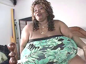 Chubby Black With Big Tits Copping Up With A Puny Fuck stick