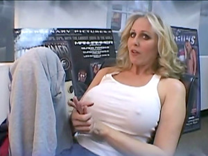 Cougar In Nylon Stocking Being Hammered Gonzo In An Interracial Fuck-a-thon