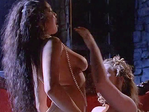 Enticing Lezzie With Lengthy Hair Getting Erotic With Her Stunners
