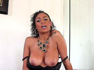 Cherry Hilson loves to suck Anthony Rosano's dick deep in her mouth