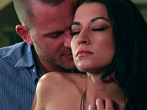 Ann Marie Rios loves to get plowed gonzo on the office table