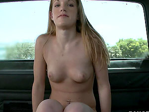 Hot Teenage Getting Fucked In The Backseat of the Bang Bus
