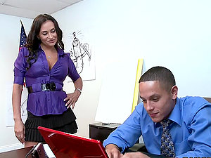 The Office Flirt Stikes Again