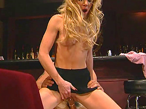 Bridgette Kerkove and Mia Smiles in a large dick rail and insatiable bj act