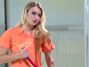 Even in jail lesbos still still love to get it on in group lovemaking