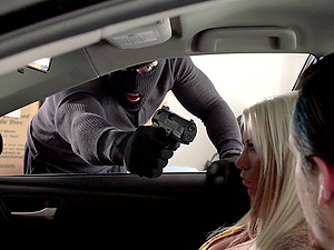 She completes up fucking the dude who attempts to carjack her