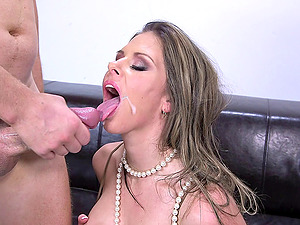 Fuck-a-thon with Rachel Roxxx is so much finer in stockings