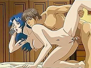 A pretty anime chick gets amazingly fucked on the couch