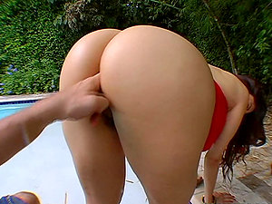 Big, round, tasty caboose rails a hard shaft, who ordered her