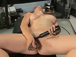 Horny Honey Needs No Man With Her Machines