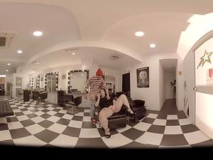VR Pornography The Best Hairdresser