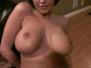 Cougar takes her titties and beaver out for a pounding in Point of view