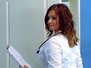 Tory is one of those nurses who just love to do the penis railing