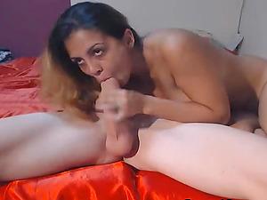 Curvy Stunner Licks Hot Jizz After Getting Fucked