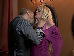 Big-chested woman will do anything for a cool hunk's thick dick