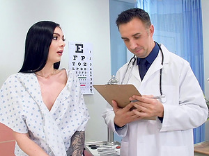 Marley Brinx seduced by a horny doc for a excellent fuck