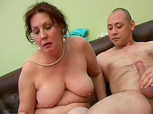 Undressing buzzed Dora to taste and smash her mature twat