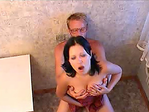 Pleasing an older and experienced gent Michael K. who dicks her