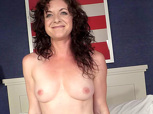 Hot mature Cougar Lynn is in need of a massive love implement