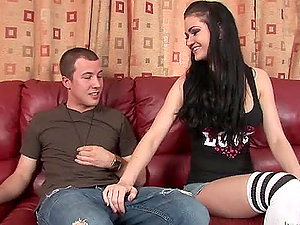 Taut Sweet Teenager Twat Gets Disciplined Hard