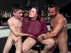 Maria Bose banged and creamed by Martin Mazza and Jordi El Nino Polla