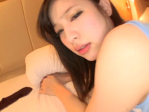 Blindfolded Japanese sweetheart wants to feel a cock between her legs