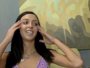 Hot bimbo Stephanie Cane enjoying a fleshy trembling manhood
