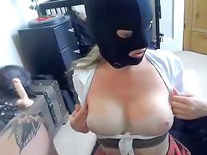 Masked Slut Gets Dirty