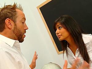Ruby Reyes Seduces Her Professor