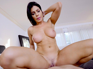 Nikki with natural tits stripteasing then smashed hardcore