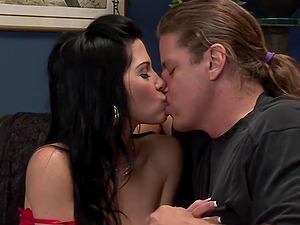 Rebecca Linares Takes Cock Anally