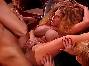 Intercourse With A Vampire concludes up with a threesome fuck-a-thon