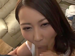 Suzuka Morikawa is a babe in sexy lingerie craving a stiff dick
