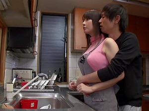 Haruka Aizawa's amazing body attacked by a horny lover