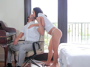 Wonderful Jada Stevens feels like never before on her lover