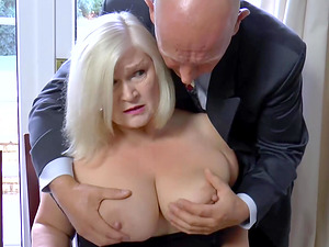 Seduced by a mature boss video