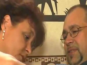 German Couple fucked hard on a sofa