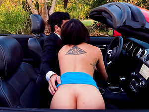 Sunny summer day is perfect for Rylynn Rae to get slammed