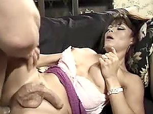 Swedish dude luvs huge-titted shemale's asshole